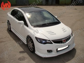 Капот Type-R Honda Civic 4D