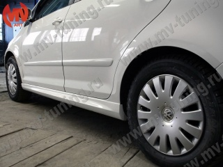 Пороги R-Line Style VW Golf Plus I / II Поколения 2004-2014