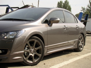 Пороги Honda Civic 4D (2006-2012)